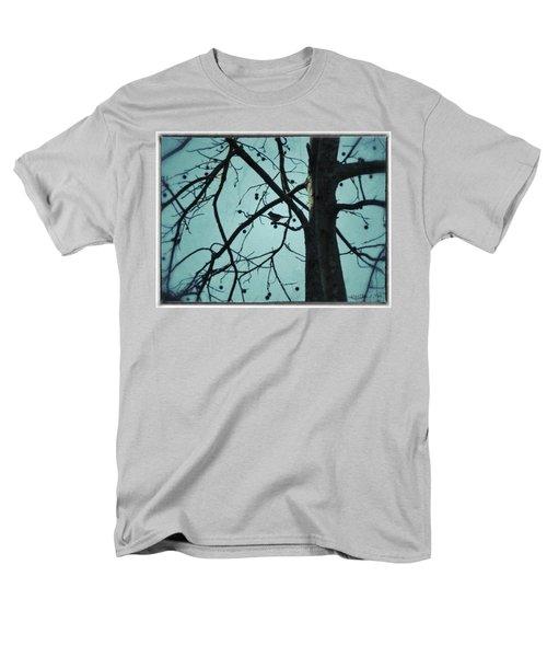Men's T-Shirt  (Regular Fit) featuring the photograph Bird In Tree by Tara Potts