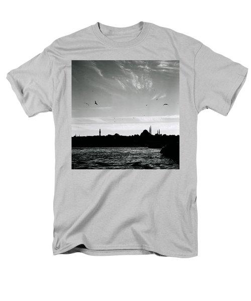 Birds Over The Golden Horn Men's T-Shirt  (Regular Fit) by Shaun Higson