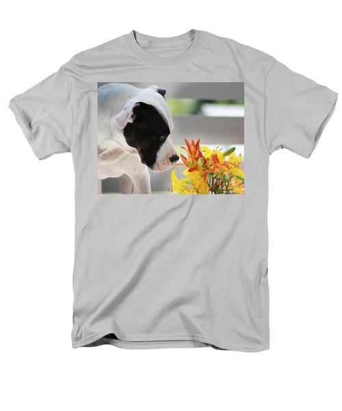 Birthday Bouquet Men's T-Shirt  (Regular Fit) by Shelley Neff