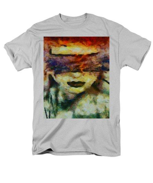 Men's T-Shirt  (Regular Fit) featuring the digital art Blinded By Sorrow by Joe Misrasi