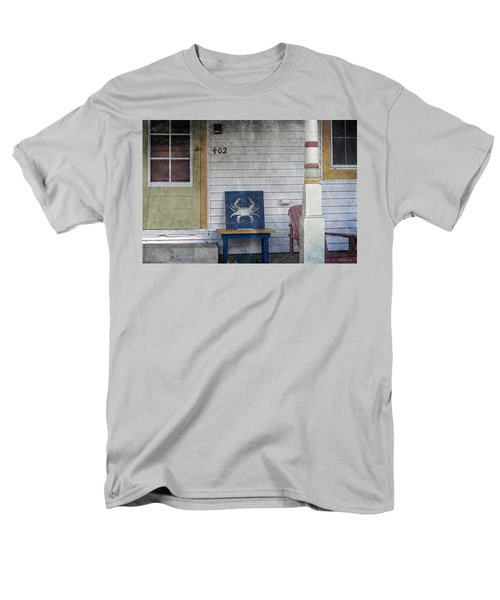 Blue Crab Chair Men's T-Shirt  (Regular Fit) by Brian Wallace
