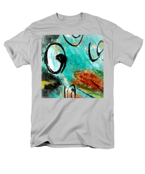 Men's T-Shirt  (Regular Fit) featuring the painting Blue Dream by Joan Reese
