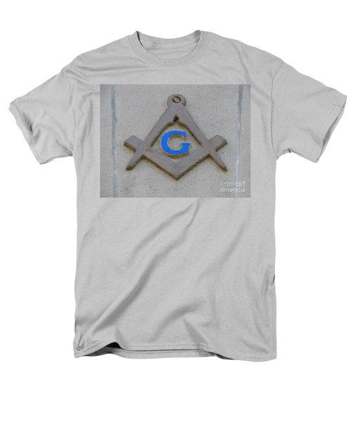 Blue G Men's T-Shirt  (Regular Fit) by Michael Krek