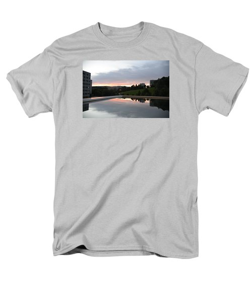 Men's T-Shirt  (Regular Fit) featuring the photograph Blue Visions 2 by Teo SITCHET-KANDA