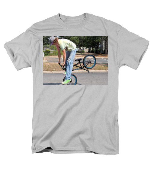 Bmx Rider Men's T-Shirt  (Regular Fit) by Aaron Martens