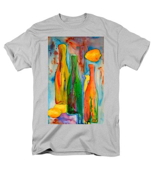 Bottles And Lemons Men's T-Shirt  (Regular Fit) by Beverley Harper Tinsley