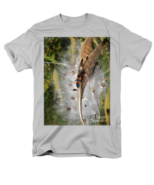 Boxelder On Butterfly Milkweed 2 Men's T-Shirt  (Regular Fit) by Sara  Raber
