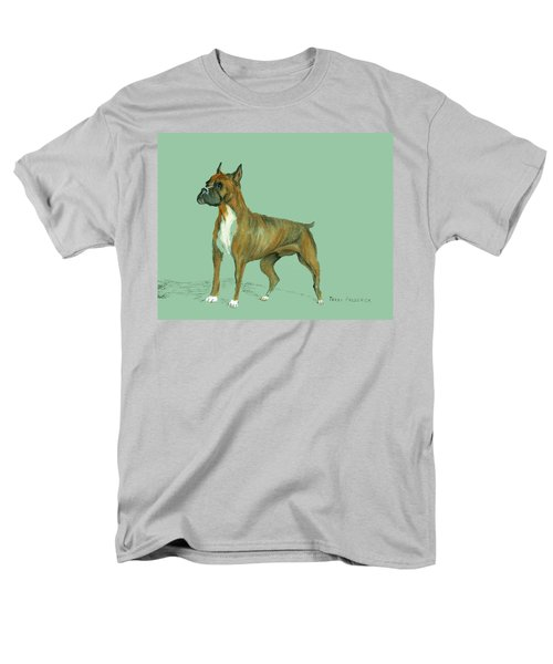 Men's T-Shirt  (Regular Fit) featuring the pastel Boxer by Terry Frederick