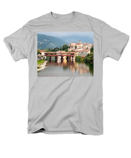 Bridge At Bassano Del Grappa Men's T-Shirt  (Regular Fit) by William Beuther