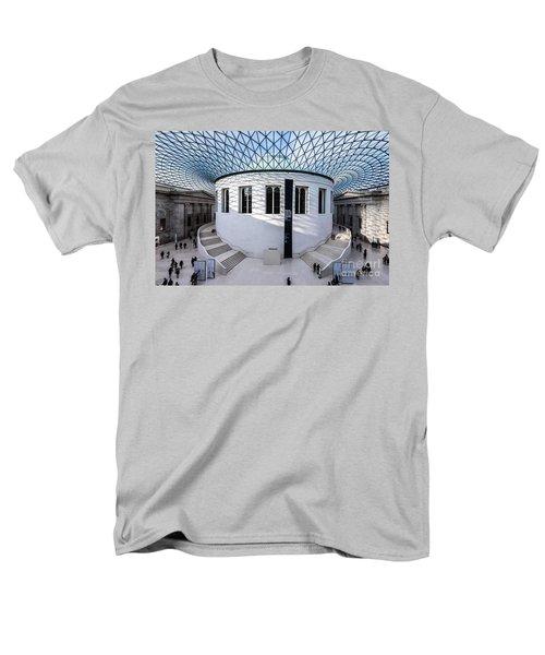 Men's T-Shirt  (Regular Fit) featuring the photograph British Museum Color by Matt Malloy