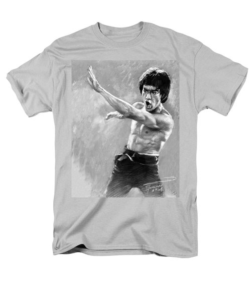 Men's T-Shirt  (Regular Fit) featuring the photograph Bruce Lee by Viola El