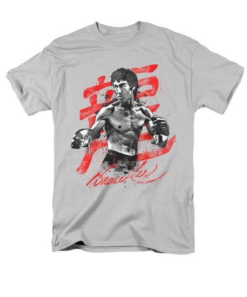 Bruce Lee - Ink Splatter Men's T-Shirt  (Regular Fit) by Brand A