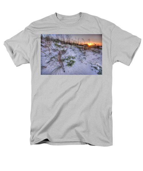 Men's T-Shirt  (Regular Fit) featuring the digital art Buried Fences by Michael Thomas