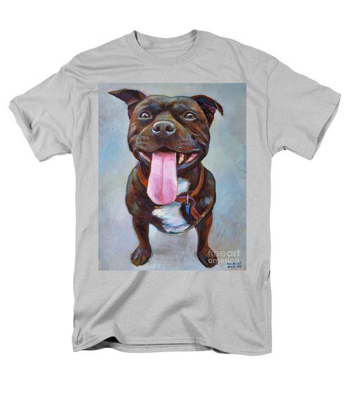 Men's T-Shirt  (Regular Fit) featuring the painting Buster  by Robert Phelps