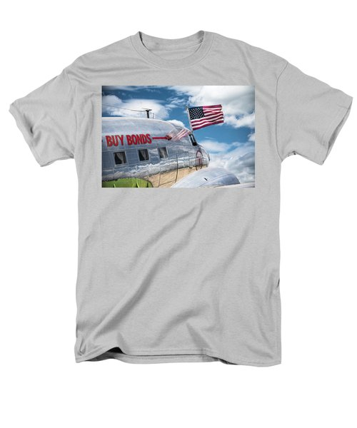 Men's T-Shirt  (Regular Fit) featuring the photograph Buy Bonds by Steven Bateson