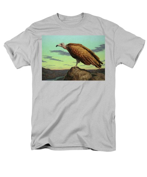 Buzzard Rock Men's T-Shirt  (Regular Fit) by James W Johnson