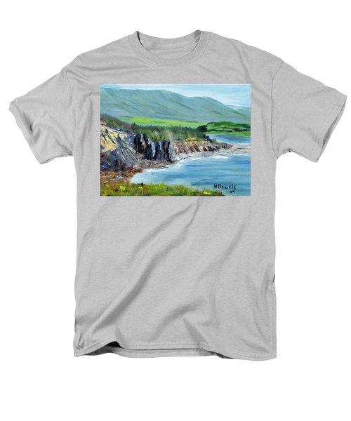 Cabot Trail Coastline Men's T-Shirt  (Regular Fit) by Michael Daniels