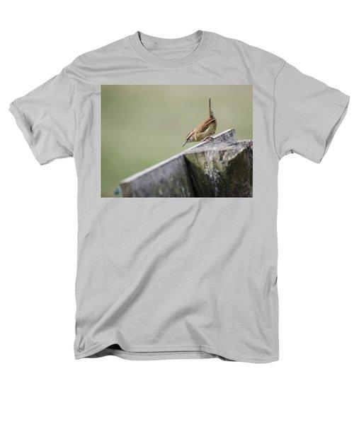 Carolina Wren Two Men's T-Shirt  (Regular Fit) by Heather Applegate