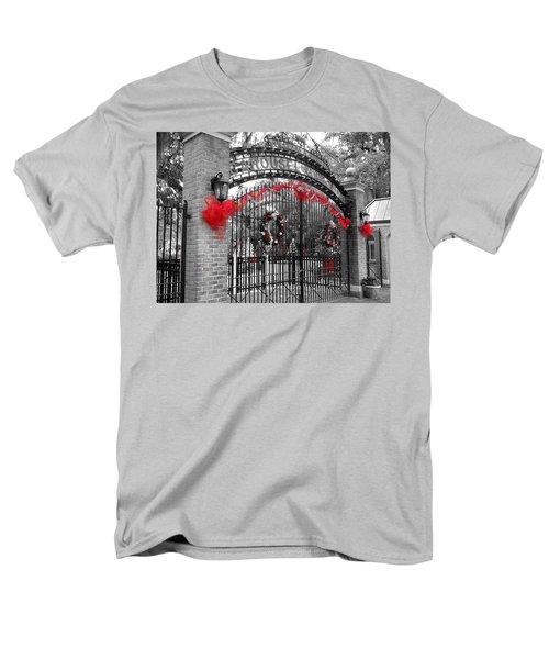 Carousel Gardens - New Orleans City Park Men's T-Shirt  (Regular Fit) by Deborah Lacoste