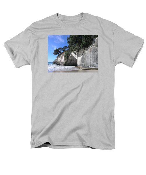 Cathedral Cove Men's T-Shirt  (Regular Fit) by Christian Zesewitz