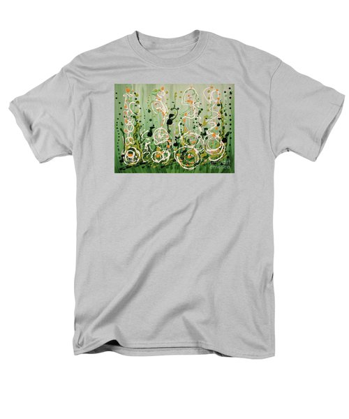 Men's T-Shirt  (Regular Fit) featuring the painting Champagne Symphony by Holly Carmichael