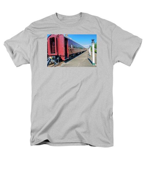 Men's T-Shirt  (Regular Fit) featuring the photograph Chattanooga Choo Choo 1 by Susan  McMenamin