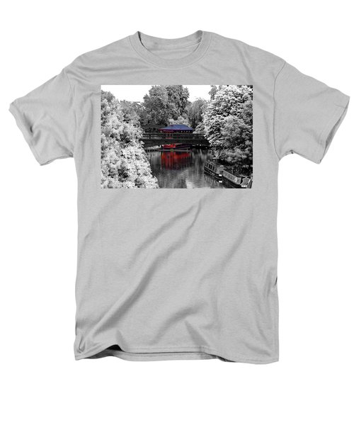 Chinese Architecture In Regent's Park Men's T-Shirt  (Regular Fit) by Maj Seda