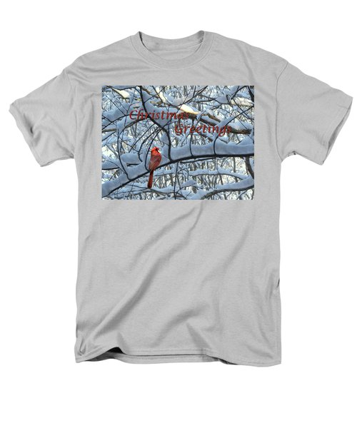 Men's T-Shirt  (Regular Fit) featuring the photograph Christmas Card - Christmas Greeting by Larry Bishop