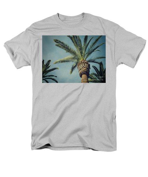 Men's T-Shirt  (Regular Fit) featuring the photograph Classic Palms2 by Meghan at FireBonnet Art