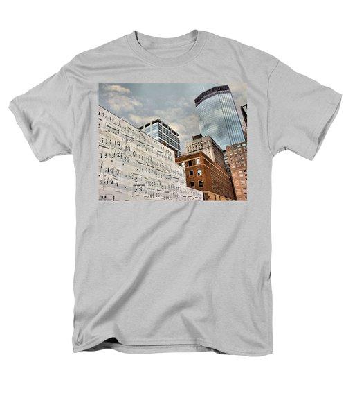 Classical Graffiti Men's T-Shirt  (Regular Fit) by Kristin Elmquist