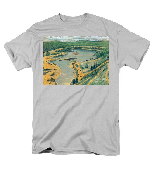 Clearwater Lake Early Days Men's T-Shirt  (Regular Fit) by Kip DeVore