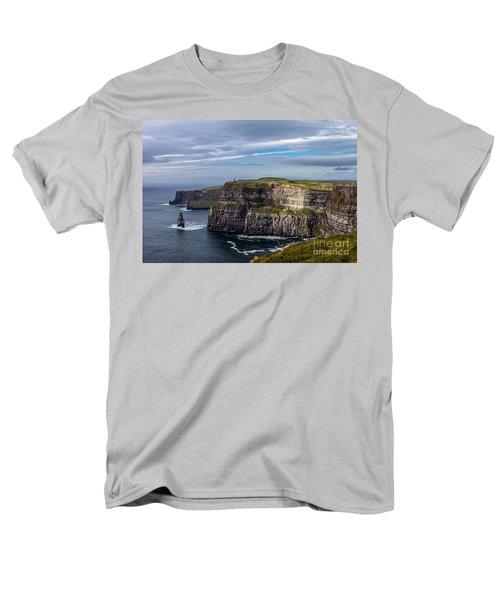 Men's T-Shirt  (Regular Fit) featuring the photograph Cliffs Of Moher I by Juergen Klust
