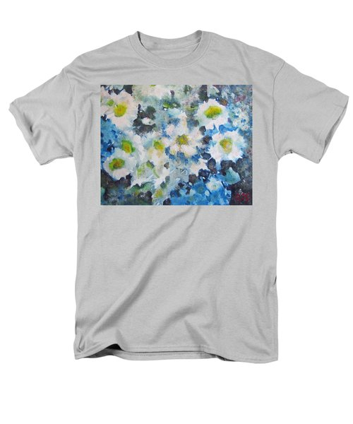 Cluster Of Daisies Men's T-Shirt  (Regular Fit) by Richard James Digance