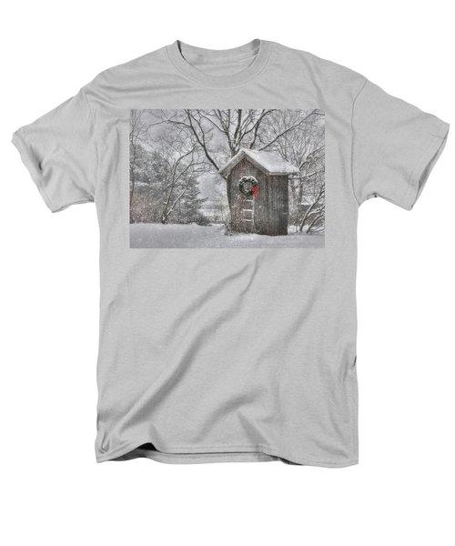 Cold Seat Men's T-Shirt  (Regular Fit) by Lori Deiter