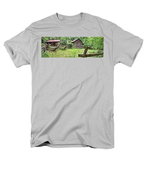 Colonial Village Men's T-Shirt  (Regular Fit) by Gordon Elwell