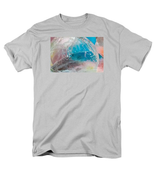 Coloured Ice Creation Print #4 Men's T-Shirt  (Regular Fit) by Nina Silver