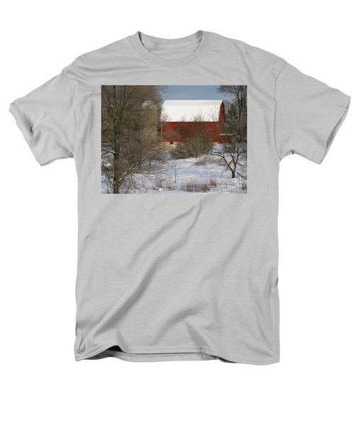Men's T-Shirt  (Regular Fit) featuring the photograph Country Winter by Ann Horn