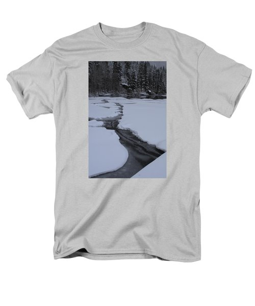 Cracked Ice  Men's T-Shirt  (Regular Fit) by Duncan Selby