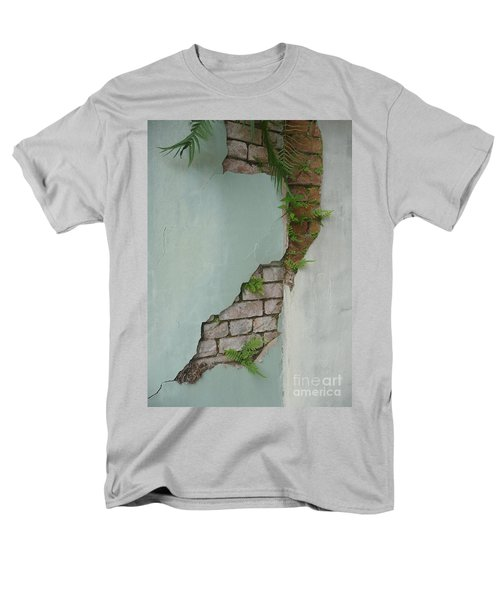 Men's T-Shirt  (Regular Fit) featuring the photograph Cracked by Valerie Reeves