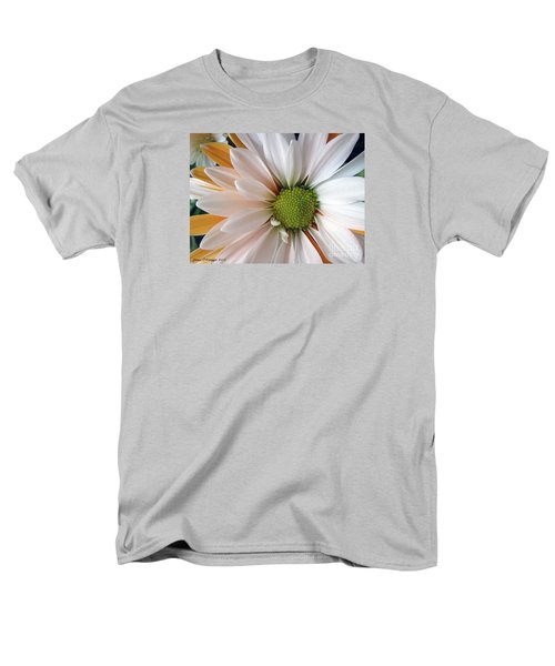 Men's T-Shirt  (Regular Fit) featuring the photograph Creamsicle by Jean OKeeffe Macro Abundance Art