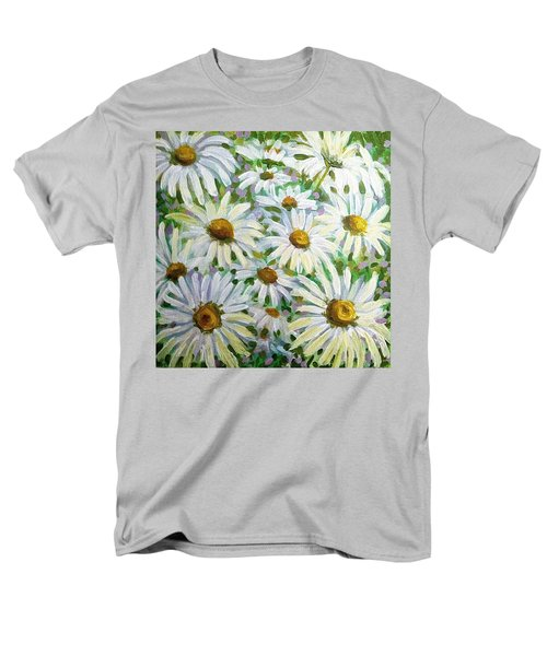 Daisies Men's T-Shirt  (Regular Fit) by Jeanette Jarmon