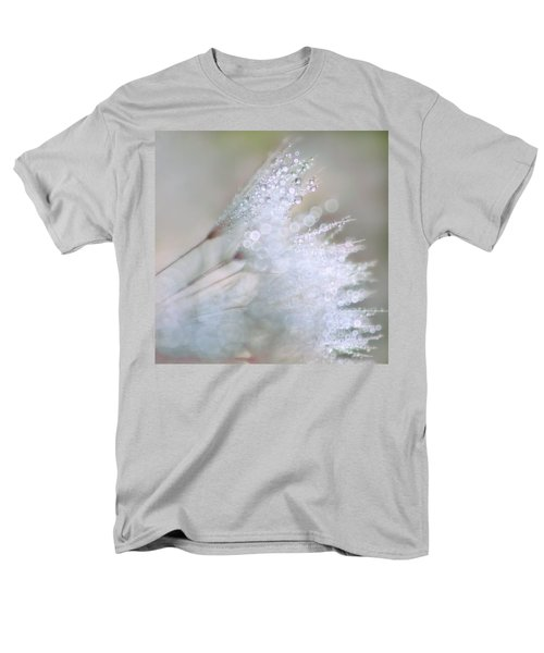 Men's T-Shirt  (Regular Fit) featuring the photograph Dandelion Bling Bokeh by Peggy Collins
