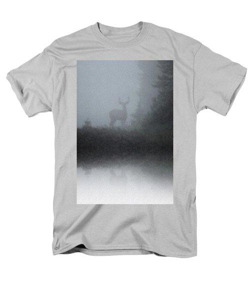 Deer Reflecting Men's T-Shirt  (Regular Fit) by Diane Alexander