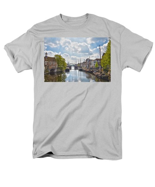 Delfshaven Rotterdam Men's T-Shirt  (Regular Fit) by Frans Blok