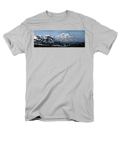 Men's T-Shirt  (Regular Fit) featuring the photograph Denali National Park Panorama by John Haldane