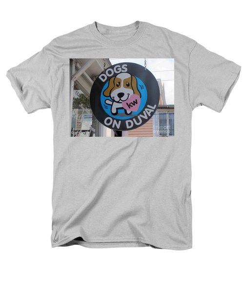 Dogs On Duval Men's T-Shirt  (Regular Fit) by Fiona Kennard