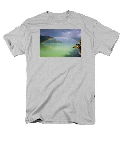 Double Rainbow Men's T-Shirt  (Regular Fit)