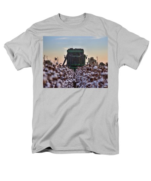 Down The Row Men's T-Shirt  (Regular Fit)