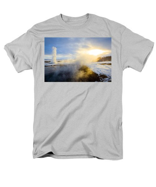 Men's T-Shirt  (Regular Fit) featuring the photograph Drawn To The Sun by Peta Thames