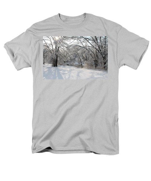 Men's T-Shirt  (Regular Fit) featuring the photograph Dressed In Snow by Nina Silver